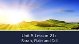 Journey's Grade 3 Lesson 21 Vocab Slideshow- Sarah, Plain