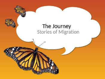 Journey's Grade 3 Lesson 22 Vocab Slideshow- The Journey Story of Migration