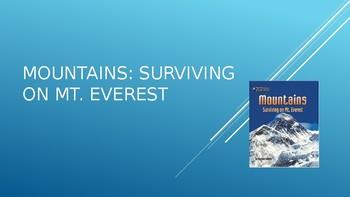Journey's Grade 3 Lesson 25 Vocab Slideshow- Mountains: Surviving on Mt. Everest