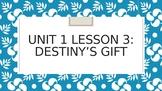 Journey's Grade 3 Lesson 3 Vocab Slideshow- Destiny's Gift