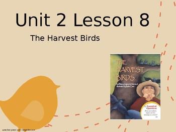 Journey's Grade 3 Lesson 8 Vocab Slideshow- The Harvest Birds
