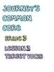 Journey's Grade 3 Vocabulary Cards