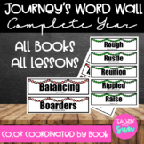 Journey's Grade 3 Vocabulary Complete Year Word Wall