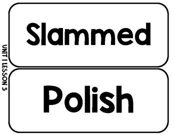Journey's Grade 3 Vocabulary Word Wall Words