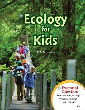 Journey's Grade 4 Lesson 15 Ecology for Kids Bundle!