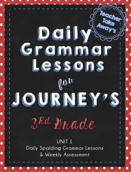 Journey's Grammar Unit 1 Lessons 1-5