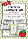 Journey's Homework Pack