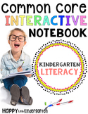 Kindergarten Literacy Interactive Notebook