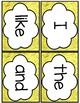 Journey's Kindergarten Sight Word Flash Cards List 1