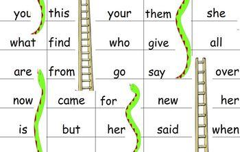 Journey's Kindergarten Snakes and Ladder Board Game