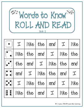 Journey's Kindergarten Word Work Practice and Center Activities - Units 1-3