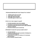 Journey's Lesson 1 Florida Standards Practice Questions