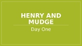 Henry and Mudge (Journey's Lesson 1 PowerPoint)