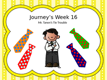 Journey's Lesson 16: Mr. Tanen's Tie Trouble