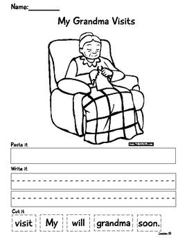 Journey's Lesson 19 Sentence Shuffle