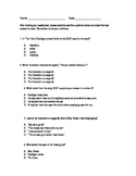 Journey's Lesson 2  Florida Standards Practice Questions