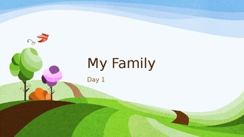 Journey's Lesson 2 PowerPoint (The Family)