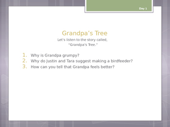Journey's Lesson 21 1st Grade Weekly Powerpoint Presentation
