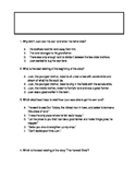 Journey's Lesson 8 Florida Standards Practice Questions