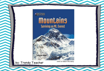 Journey's Mountains Surviving Mt. Everest flipchart