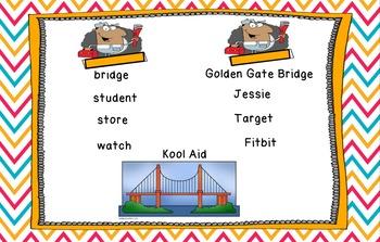 Journey's Pop's Bridge flipchart