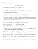 Journey's Quiz Bat Loves the Night (3rd grade, lesson 6)