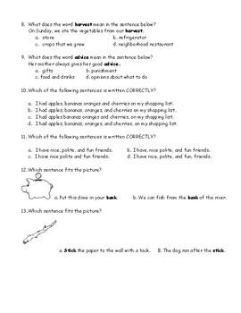 Journey's Quiz The Harvest Birds (Grade 3, lesson 8)