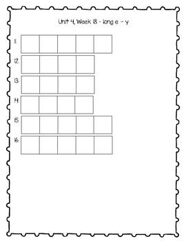Journey's Second Grade Unit 4 Spelling Activities