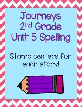 Journey's Second Grade Unit 5 Spelling Activities