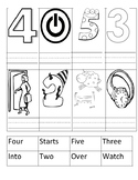 """Journey's """"The Big Race"""" Lesson 14 sight word center"""