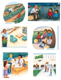 """Journey's """"Tomas Rivera"""" Lesson 19 Sequencing cards and sentences"""