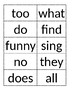Journey's Unit 1 High Frequency Words // 1st Grade