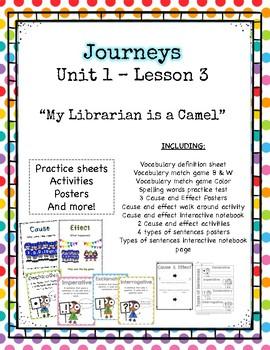 Journey's Unit 1 Lesson 3