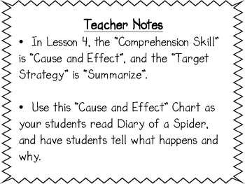 Journey's Unit 1, Lessons 4 & 5 Cause and Effect graphic Organizer