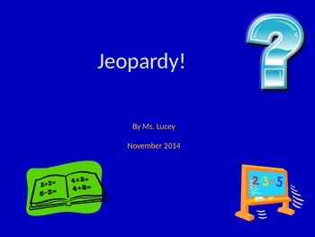 Journey's Unit 1 and 2 Review Jeopardy Game
