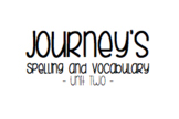 Journey's Unit 2 Spelling and Vocabulary Lists (Third Grade)