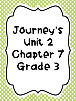 Journey's Unit 2 Vocab Cooperative Learning Cards!