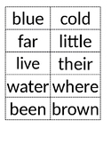 Journey's Unit 3 High Frequency Word // 1st Grade