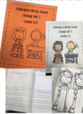 Journey's Unit 3 Kindergarten Writing Journal