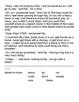 Journey's Unit 4 (Lessons 16- 20) Stories/ Words to Know
