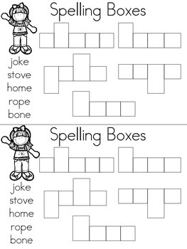 Journey's Unit 4 Spelling Book