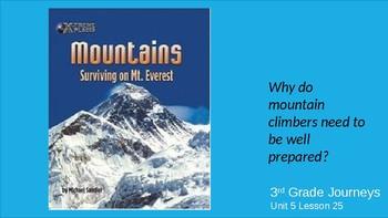 Journey's Unit 5 Lesson 25 Mountains:  Surviving Mt. Everest - Whole Group