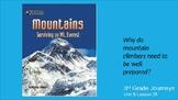 Journey's Unit 5 Lesson 25 Mountains:  Surviving Mt. Evere