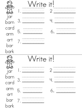Journey's Unit 5 Spelling Book