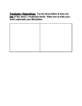 Journey's Vocabulary Activities: The Harvest Birds - Third Grade