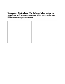 Journey's Vocabulary Activities: What Do Illustrator's Do? - Third Grade