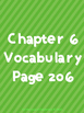 Journey's Vocabulary Grade 3 Chapters 6-10