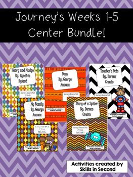 Journey's Weeks 1-5 Center Bundle!
