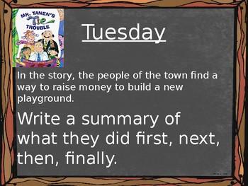 Journey's Writing Prompts - Grade 2 Unit 4 Lesson 16