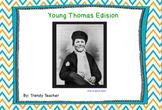 Journey's Young Thomas Edison flipchart